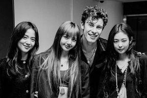 Không chỉ 'đổ bộ' show diễn tại xứ Kim Chi, 3 mẩu BlackPink còn khiến fan phấn khích với hình ảnh chụp cùng Shawn Mendes