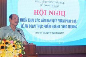 Thừa Thiên Huế: Phổ biến các quy định mới của Luật An toàn thực phẩm ngành Công Thương