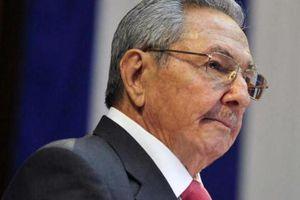 Mỹ áp lệnh cấm nhập cảnh đối với lãnh đạo Cuba Raul Castro