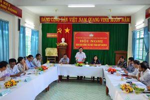 Ninh Thuận: Giao ban công tác khối Mặt trận và các đoàn thể quý III