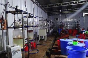 Bên trong xưởng sản xuất ma túy ở Kon Tum