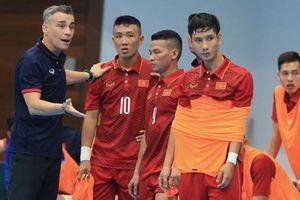 ĐT futsal Việt Nam tập trung chuẩn bị cho giải vô địch Đông Nam Á