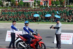 Ngày hội Thanh niên với văn hóa giao thông trong Quân đội