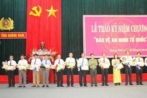 27 cá nhân được nhận Kỷ niệm chương 'Bảo vệ An ninh Tổ quốc'