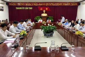 Thứ trưởng Thường trực Bùi Thanh Sơn thăm và làm việc tại Đồng bằng sông Cửu Long