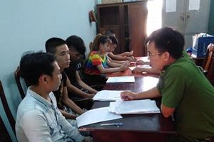 Quảng Nam: Bắt quả tang 28 khách và nhân viên quán karaoke chơi ma túy