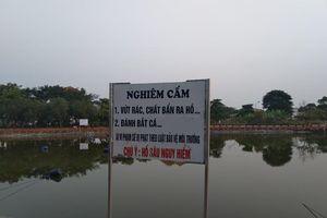 Hai học sinh chết đuối thương tâm tại hồ nước trong khu biệt thự