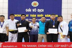 Hà Tĩnh giành 5 huy chương Giải vô địch Pencak silat toàn quốc