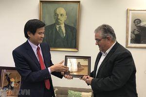 Việt Nam và Hy Lạp thúc đẩy quan hệ giữa hai Đảng Cộng sản