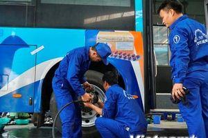 Hà Nội: Tranh tài 'kỹ nghệ' bảo dưỡng, sửa chữa định kỳ xe buýt