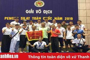 Thanh Hóa xếp thứ nhì tại Giải vô địch Pencak Silat toàn quốc 2019
