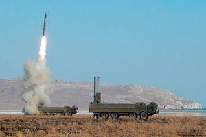Xem hệ thống tên lửa Bastion của Hạm đội Nga lần đầu thực hiện 'chiến thuật bầy sói'