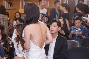 Thái Trinh khóc và bỏ về ở sự kiện có bạn trai cũ Quang Đăng