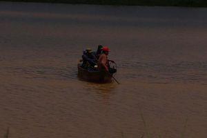 Lại thêm vụ lật thuyền tại Hồ thủy điện Thác Mơ, 1 người mất tích