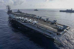 Mỹ điều động tàu sân bay đồn trú tại Nhật Bản tới biển Đông