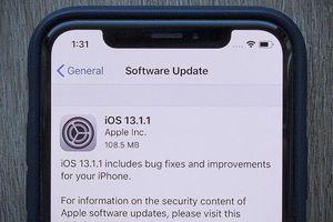 Apple phát hành iOS 13.1.1 cho iPhone