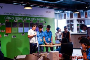 'Tìm hiểu khoa học cùng Sony' với các nhà khoa học nhí: chủ đề công nghệ cảm biến MESH