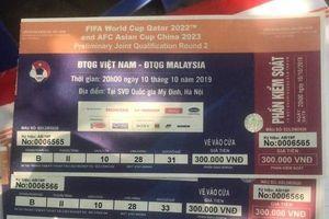 Phe vé và nguy cơ 'vỡ mộng' vì thương vụ vé bóng đá trận đấu giữa đội tuyển Việt Nam – Malaysia