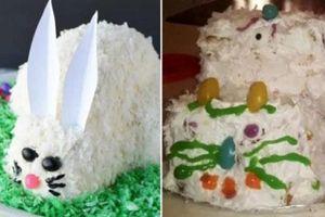 Cất công làm bánh sinh nhật tặng người yêu, nhận thành phẩm chàng chỉ biết há hốc mồm