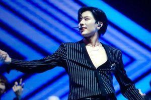 Sự cố trang phục 'khoe thịt' của Cho Seung Yeon (X1) trên sân khấu, Twitter báo lỗi phản cảm