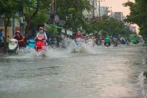 Cận cảnh những nỗi khổ của người Sài Gòn khi triều cường dâng cao 1,7 m