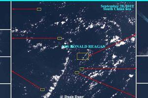 Tàu sân bay Mỹ bị tàu chiến Trung Quốc bao vây ở biển Đông?