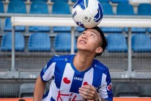 Jong Heerenveen 1-1 Heracles: Văn Hậu chơi tự tin