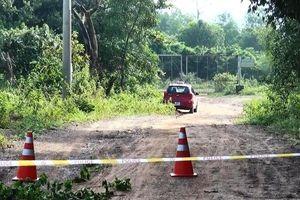 Dùng dao gây thương tích, cướp tài sản lái xe taxi