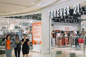 Hãng thời trang Forever 21 đệ đơn xin phá sản