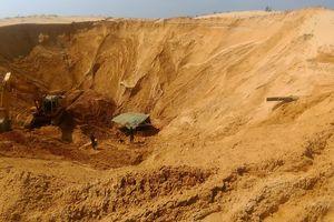 Sập hầm khai thác quặng titan, 1 công nhân tử vong