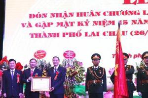 T.P Lai Châu đón nhận Huân chương Lao động hạng nhất: Niềm vinh dự và tự hào