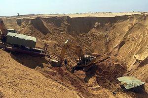 Sập hố khai thác titan ở Bình Thuận, một công nhân thiệt mạng