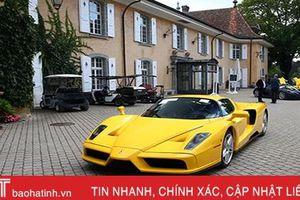 Đấu giá 25 siêu xe của phó tổng thống châu Phi