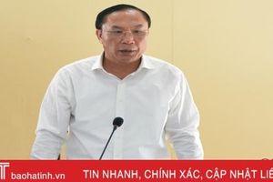 Tham mưu đề án sắp xếp một số cơ quan báo chí Hà Tĩnh đúng lộ trình