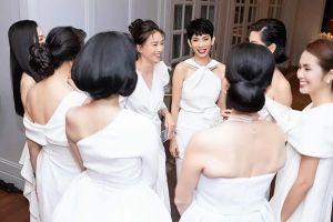 Tăng Thanh Hà cùng dàn sao Việt rạng rỡ mừng kỷ niệm 25 năm ngày cưới Diễm My