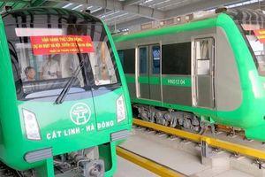 Trước khi chạy, tàu đường sắt Cát Linh - Hà Đông có phải đăng ký biển số?
