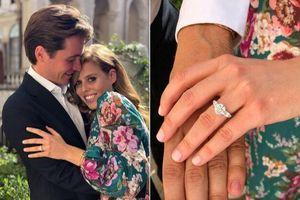 Nhẫn đính hôn của công chúa Beatrice được khen sang chảnh ăn đứt Kate Middleton và Meghan Markle