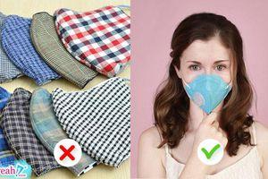 Những loại khẩu trang nào sẽ 'cứu rỗi' bạn khỏi không khí ô nhiễm đang báo động tại Việt Nam ?