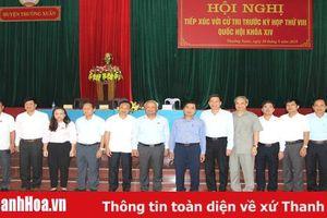 Đoàn ĐBQH tỉnh Thanh Hóa tiếp xúc cử tri huyện Thường Xuân