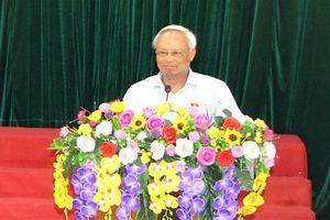 Phó Chủ tịch Quốc hội Uông Chu lưu tiếp xúc cử tri huyện Thường Xuân, thanh hóa