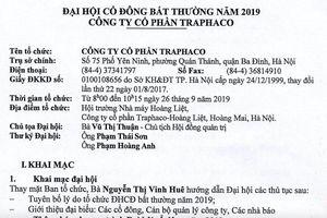 'Sao vàng ngành dược' Traphaco nằm trong 'danh sách đen' vi phạm thuế