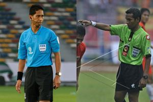2 trọng tài Malaysia sẽ cầm còi ở vòng hạ màn V-League 2019