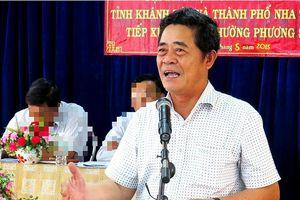 Mắc vi phạm rất nghiêm trọng, vì sao Bí Thư Tỉnh ủy Khánh Hòa chưa bị xem xét kỷ luật?