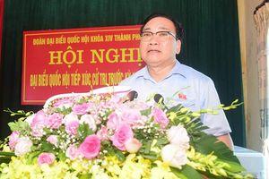 Bí thư Thành ủy Hoàng Trung Hải: Phát huy hơn nữa tiềm năng, lợi thế để phát triển địa phương
