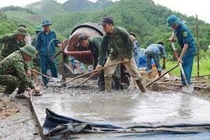 Lực lượng vũ trang tỉnh Quảng Ninh thiết thực hỗ trợ địa phương xây dựng nông thôn mới