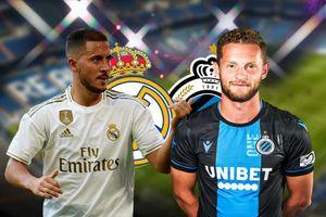 Real Madrid vs Club Brugge: Trút mưa bàn thắng