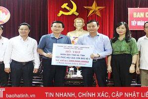 Đà Nẵng hỗ trợ Hà Tĩnh 500 triệu đồng khắc phục hậu quả thiên tai