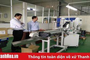 Tăng cường ứng dụng thiết bị tiên tiến vào sản xuất hàng công nghiệp - tiểu thủ công nghiệp