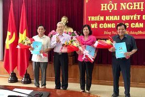 Trao quyết định nghỉ hưu cho nguyên Chủ tịch Ủy ban MTTQ Việt Nam tỉnh Huỳnh Văn Tới