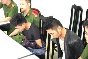 Di lý hai nghi phạm giết tài xế Grab từ Yên Bái về Hà Nội